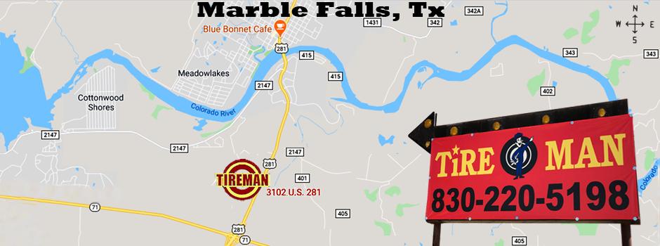 Marble Falls TireMan